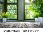 table background and spring... | Shutterstock . vector #1061497544