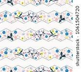 beautiful gentle zigzag stripe...   Shutterstock .eps vector #1061504720
