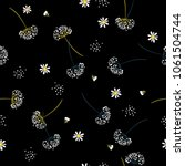 Dark  Seamless Pattern Vector ...