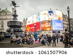 london  march  2018  ... | Shutterstock . vector #1061507906