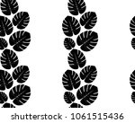 jungle leaf  leaves  pattern ... | Shutterstock .eps vector #1061515436