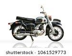 The Old Vintage Motorbike...