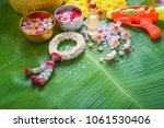 thai traditional jasmine...   Shutterstock . vector #1061530406