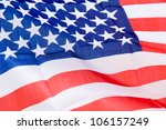 close up shot of wavy american... | Shutterstock . vector #106157249