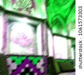blur in iran  kashan   islamic... | Shutterstock . vector #1061573303