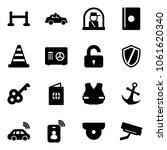 solid vector icon set   vip...   Shutterstock .eps vector #1061620340
