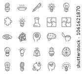 thin line icon set   super... | Shutterstock .eps vector #1061621870