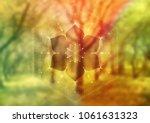 vector template of banner ... | Shutterstock .eps vector #1061631323