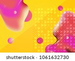 graphic illustration with... | Shutterstock . vector #1061632730