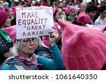 activists protest against... | Shutterstock . vector #1061640350