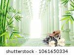 3d roman column background... | Shutterstock . vector #1061650334