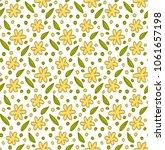 floral elements  pattern...   Shutterstock .eps vector #1061657198