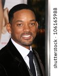 will smith   at the los angeles ... | Shutterstock . vector #106165988