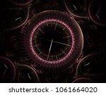Futuristic Modern Clock Watch...