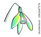 vector illustration of single... | Shutterstock .eps vector #1061667176
