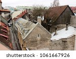 view over the rooftops  natural ... | Shutterstock . vector #1061667926