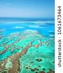 great barrier reef | Shutterstock . vector #1061673464