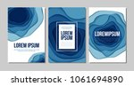 abstract background with paper... | Shutterstock .eps vector #1061694890