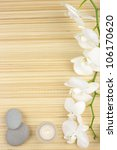 white orchids  candles and... | Shutterstock . vector #106170620