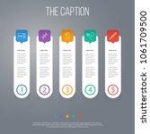 icon line healthcare set of... | Shutterstock .eps vector #1061709500