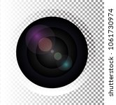 camera photo lens  vector...   Shutterstock .eps vector #1061730974