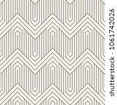 vector seamless pattern. modern ... | Shutterstock .eps vector #1061742026