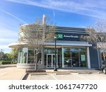Small photo of IRVING, TX, US-APR 4, 2018:Entrance facade of TD Ameritrade branch office. Brokerage firm from Omaha, Nebraska, provides services for individual, institution investing online. TD Toronto-Dominion Bank