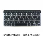 keyboard isolated on white... | Shutterstock . vector #1061757830