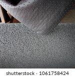 rubber door mat   Shutterstock . vector #1061758424