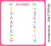 join each capital letter with... | Shutterstock .eps vector #1061759336