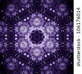 Mandala Purple Flower ...