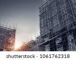 construction industry ...   Shutterstock . vector #1061762318