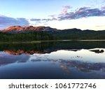 beautiful landscape in norway   Shutterstock . vector #1061772746