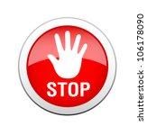 stop sign | Shutterstock .eps vector #106178090