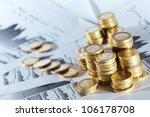 business diagram on financial... | Shutterstock . vector #106178708