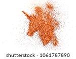 explosion high intense pigment...   Shutterstock . vector #1061787890
