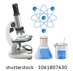 scientific research and... | Shutterstock .eps vector #1061807630