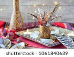 crystals candles and feathers... | Shutterstock . vector #1061840639