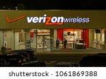 hdr image  verizon wireless... | Shutterstock . vector #1061869388