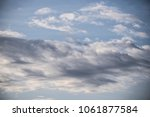 Small photo of Cloudscape - accumulation of clouds