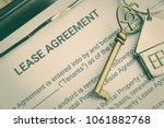 business legal document concept ... | Shutterstock . vector #1061882768