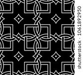 black and white geometric... | Shutterstock .eps vector #1061892950