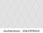 pattern stripe seamless gray... | Shutterstock .eps vector #1061909624