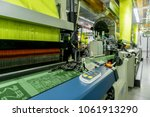 machinery and equipment in the... | Shutterstock . vector #1061913290