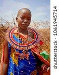 africa  kenya  masai mara  ... | Shutterstock . vector #1061945714