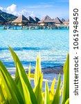 bora bora island  french... | Shutterstock . vector #1061948450