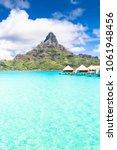 bora bora island  french... | Shutterstock . vector #1061948456