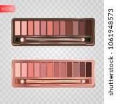 modern eye shadow palette set.... | Shutterstock .eps vector #1061948573