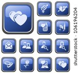 love and dating button set   Shutterstock .eps vector #106196204