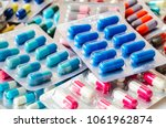 pharmaceuticals antibiotics... | Shutterstock . vector #1061962874